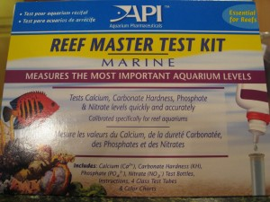 Water tests for reef aquariums